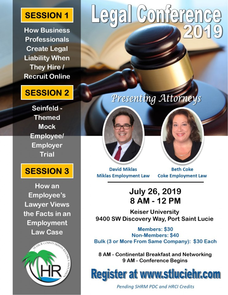 Legal Conference Flyer